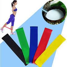 Резинки для фитнеса, экспандер (набор 5 шт)