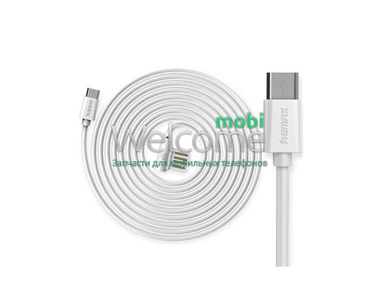 Кабель micro USB Remax Rayen RC-075, 1.0м white