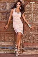 Эксклюзивное вязаное кружевное платье.Уроки мастерства