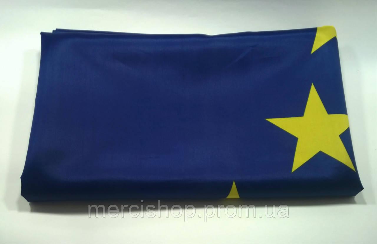 Флаг Евросоюза - (Эконом) - (0.9м*1.35м)