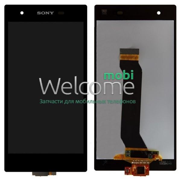 Модуль Sony C6916 Xperia Z1s black дисплей экран, сенсор тач скрин Сони