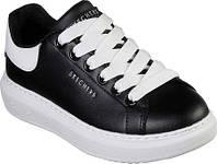 Женские кроссовки Skechers High Street Chic Street Sneaker Black White 4d25ea4f0f6