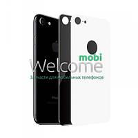 Защитное стекло iPhone 8 (0.3 мм, 4D) white на заднюю сторону Айфон 8