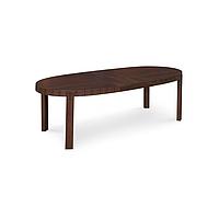 Стол раскладной деревянный Atelier CS398-E P12 темный орех
