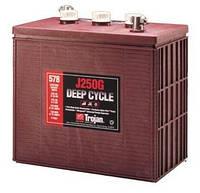 Тяговые кислотные аккумуляторные батареи  TROJAN J250G 235 Ah