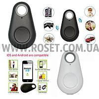 Брелок-трекер iTag Black Bluetooth для поиска вещей маячок, фото 1