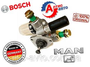 Топливный насос ручной подкачки топлива MAN пр. Bosch запчасти