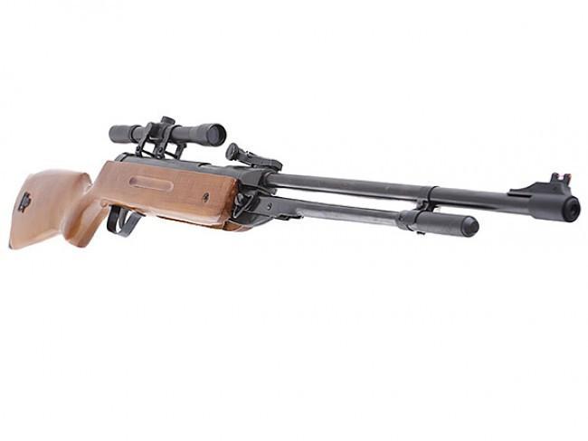 Пневматічна гвинтівка KANDAR B3 HARD 4,5 mm 280 m/s оптика Kandar 4x20