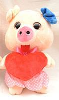 Мягкая игрушка Свинка глазастая №222018B SO