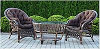 Комплект мебели Copacabana из натурального ротанга, фото 1