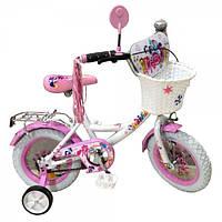 Детский велосипед 14 дюймов LITLE PONY P1455W-W