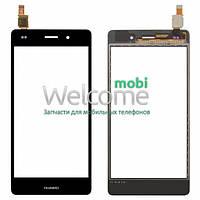 Сенсор Huawei P8 Lite (ALE L21) black, тач скрин Хуавей Хуавэй Р8 Лайт