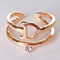 Кольцо без р-р хомут Dior голд