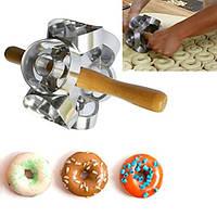 Скалка для пончиков Donut Cutter, приспособление для нарезки теста для пончиков