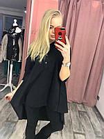 Женская рубашка Style с длинным рукавом 42-46р цвета в ассортименте