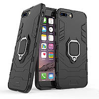 Чехол Ring Armor для Apple iPhone 7 Plus / 8 Plus Черный, фото 1