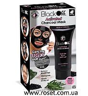 Черная маска-пленка для лица - Black Off Activated Charcoal Mask
