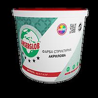 Краска структурная акриловая Anserglob 7 кг