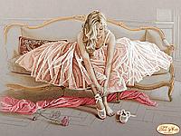 Схема для вышивки бисером Балерина ТА-149(2)