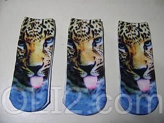 Женские 3 D носки прикольные