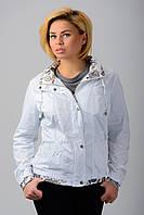 Куртка ветровка белая/Ylanni №957