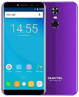 "OUKITEL C8 purple 2/16 Gb, 5.5"", MT6737, 3G, 4G, фото 1"