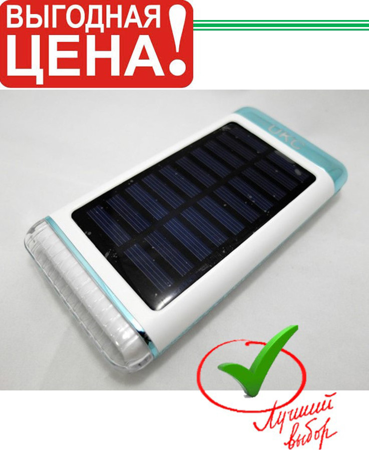 POWER BANK Solar+Led 15000 mAh UKC