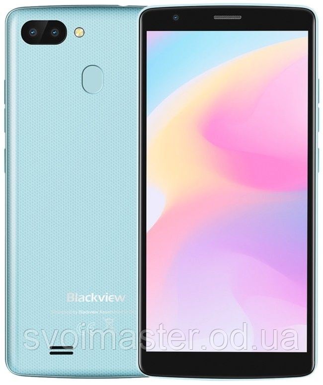"Blackview A20 Pro blue 2/16 Gb,  5.5"", MT6739, 3G, 4G, фото 1"