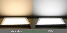Светодиодный потолочный светильник 6W(квадратный белый)