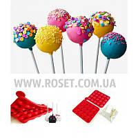 Силиконовые формочки для выпечки Pop Cake (Поп Кейков) - Party Lolli Cakes, фото 1