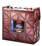 Тяговые кислотные аккумуляторные батареи  TROJAN J185P-AC 205 Ah 12В