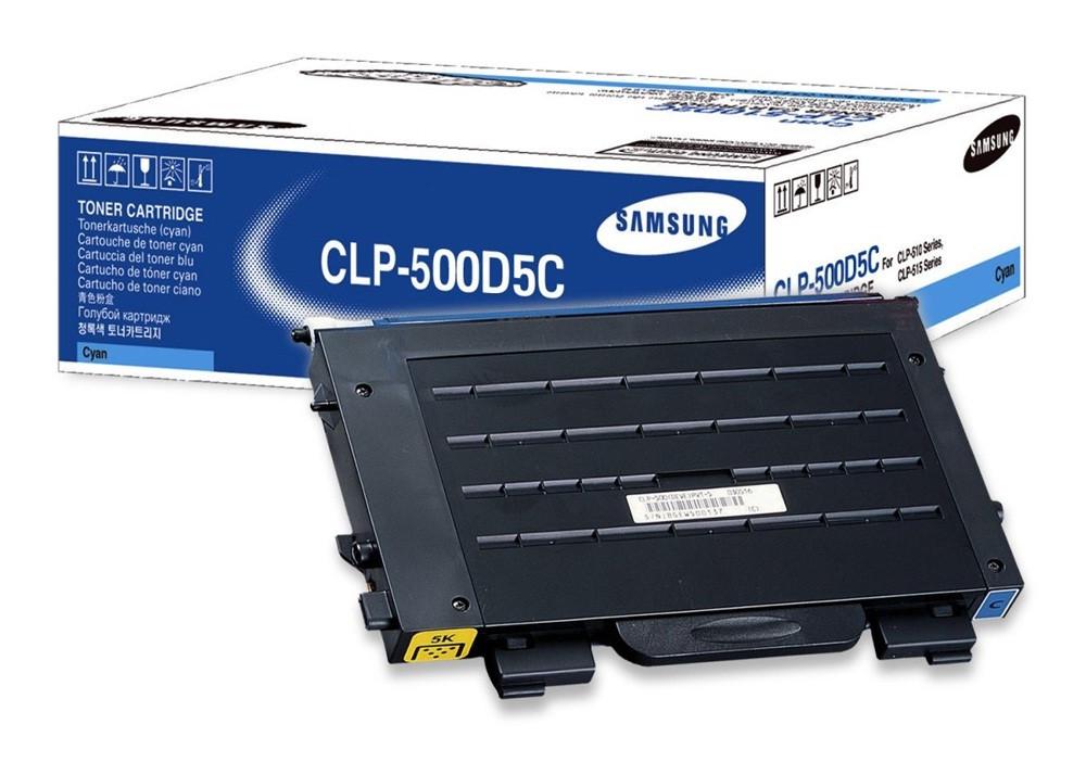 Заправка картриджа Samsung CLP-500D5C