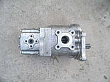 Насос шестеренчатый спаренный (сдвоенный) тандем НШ 50-10 , фото 2