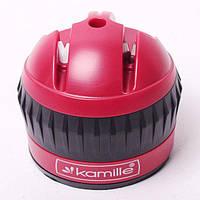 Точилка для ножей Kamille 6*6*6.5 см с присоской