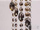 Светильник с подвесками из пепельного хрусталя Diasha 6013A GD-SM, фото 3