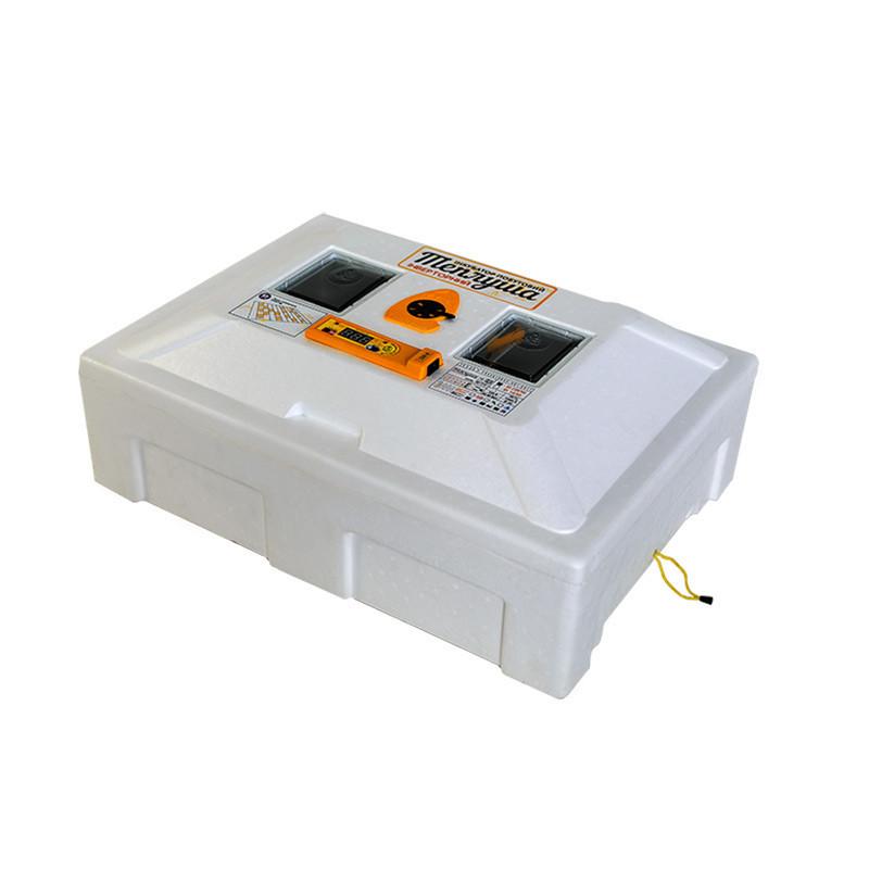 Инкубатор с механическим переворотом Теплуша 100 ИБ 220/50 ЛМ (Ламповый)