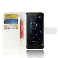 Чехол-книжка Litchie Wallet для Blackview A7 Pro Белый