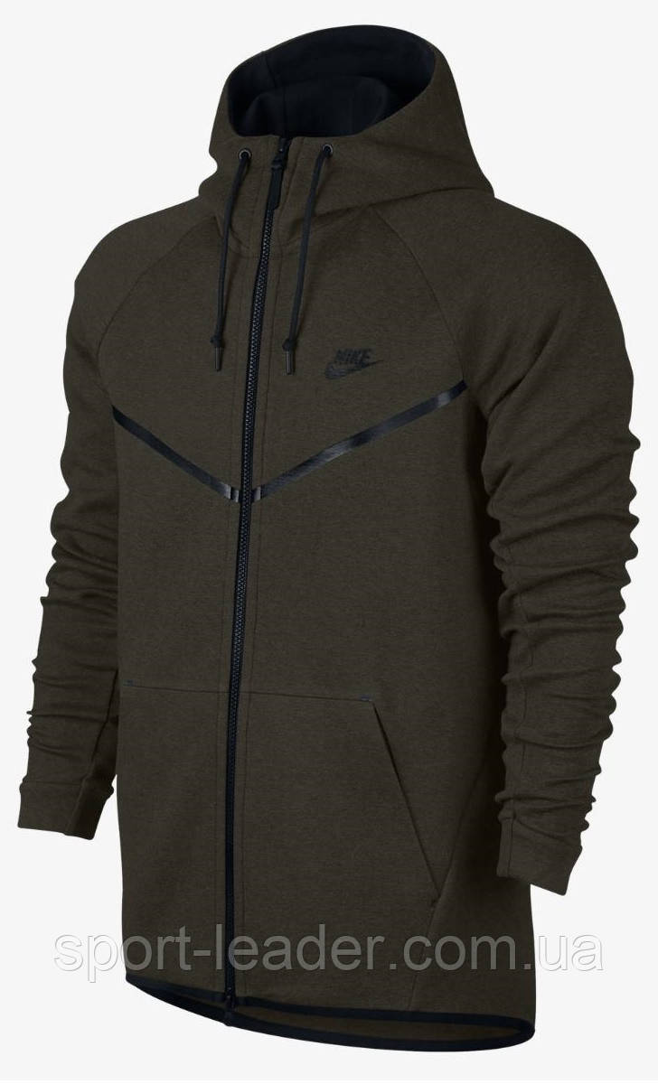 ae15f896 Толстовка мужская Nike Tech Fleece Windbreaker 805144-355 - Sport-Leader в  Киеве