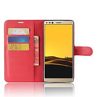 Чехол-книжка Litchie Wallet для Doogee Mix 2 Красный