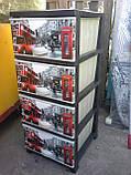 Комод пластиковый Лондон элиф , фото 2