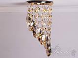 """Светильник с подвесками цвета """"шампань""""DH 6016E GD-SP, фото 3"""