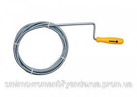 Трос пружний для чистки каналізаційних труб VOREL, Ø= 6 мм, l= 3 м  [18/36]