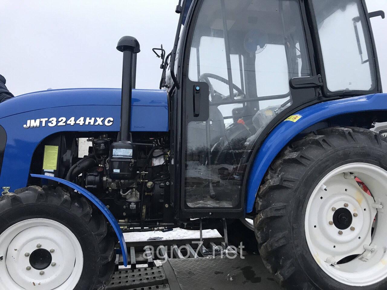 Трактор с доставкой JMT3244HXC (24 л.с, 4×4, ГУР)