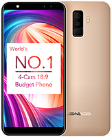 "Leagoo M9 gold 2/16 Gb, 5.5"", MT6580A, 3G, фото 1"