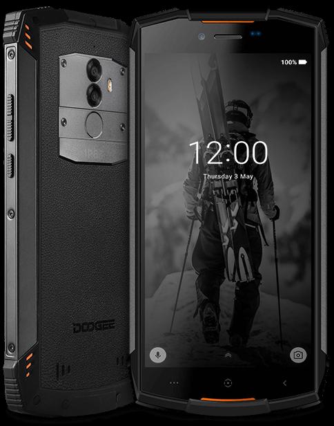 Смартфон Doogee S55 (black-orange) 4/64Гб ЗАЩИТА IP68 оригинал - гарантия!