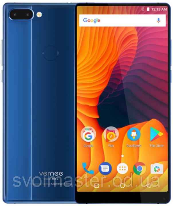 "Vernee Mix 2 blue 6/64 Gb, 6"", Helio P25, 3G, 4G, фото 1"