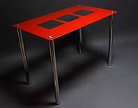 Стол стеклянный Малевич 900