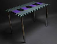 Стол стеклянный Накидка 900
