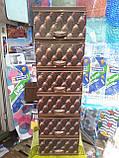 Комод пластиковый элиф диван коричневый на 6 ящиков, фото 3
