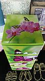 "Комод на 4 ящика с декором ""бабочка и Орхидея ""  Алеана, фото 5"